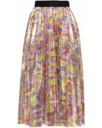 Spódnica plisowana Emilio Pucci
