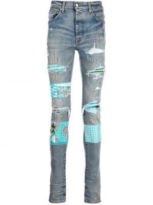 Синие джинсы из полиэстера Amiri
