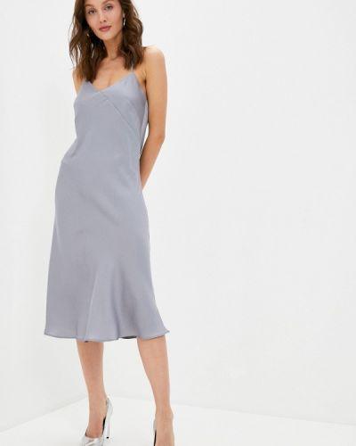 Серое платье Doroteya