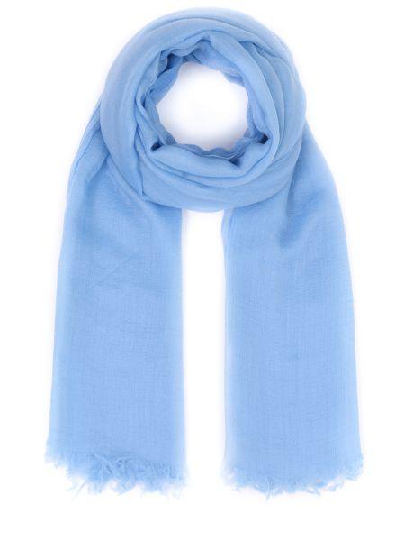 Кашемировый классический шарф с бахромой прямоугольный Malo
