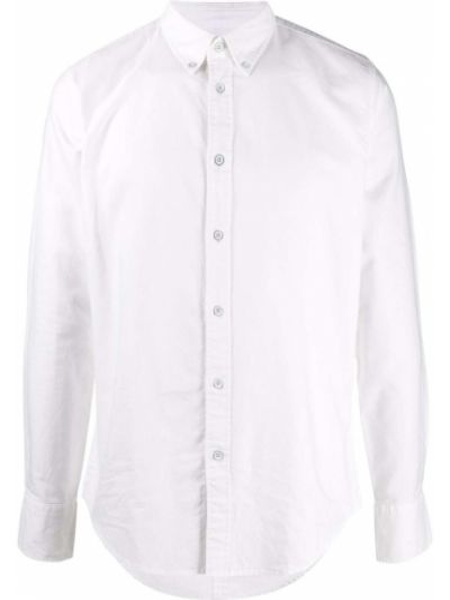 Biała koszula bawełniana z długimi rękawami Rag & Bone