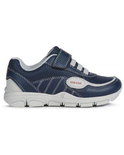 Спортивные синие кроссовки Geox
