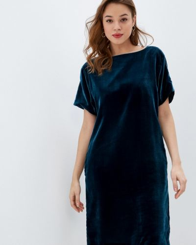 Синее вечернее платье Marks & Spencer