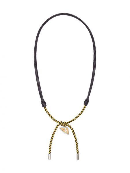 Naszyjnik łańcuch - czarny Fendi