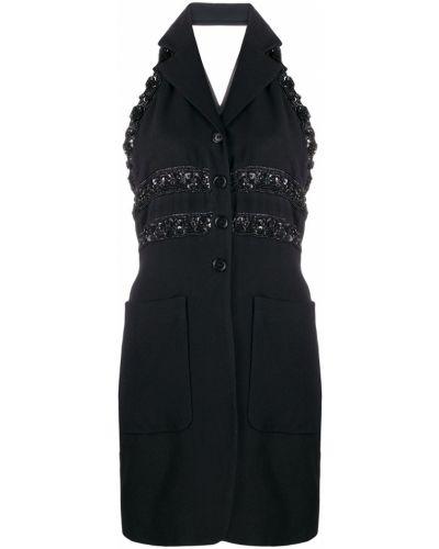 Черная куртка Romeo Gigli Pre-owned