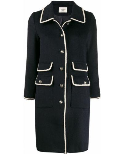 Длинное пальто с капюшоном на пуговицах Jovonna
