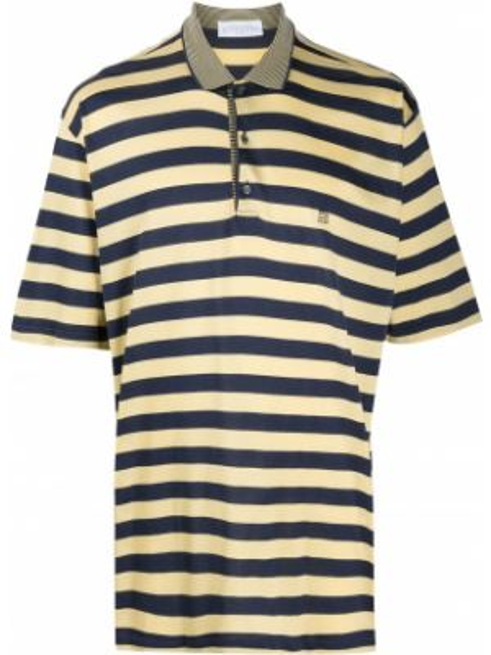 Классическая желтая рубашка с короткими рукавами на пуговицах Givenchy Pre-owned