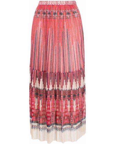 Красная юбка из полиэстера Ba&sh