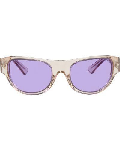 Okulary skorzane - beżowe Retrosuperfuture