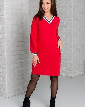 Платье миди со складками платье-сарафан Sharlize