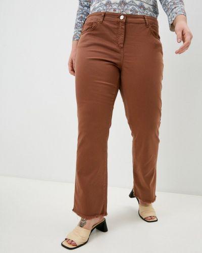 Повседневные коричневые брюки Elena Miro
