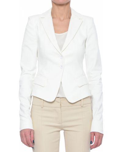 Хлопковый пиджак - белый Patrizia Pepe