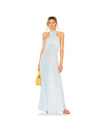 Деловое платье макси на молнии Tularosa