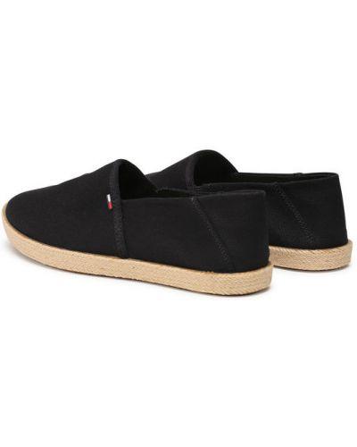 Czarne espadryle Tommy Jeans