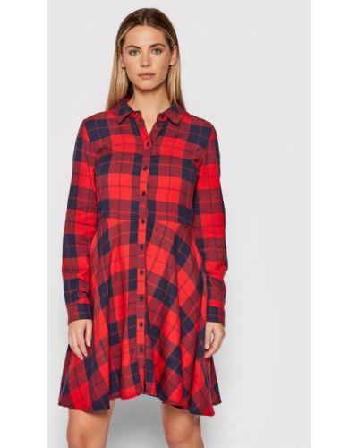 Czerwona sukienka Noisy May