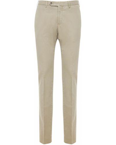 Beżowe spodnie bawełniane Pantaloni Torino