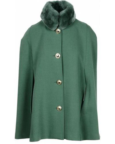 Zielony płaszcz Atos Lombardini