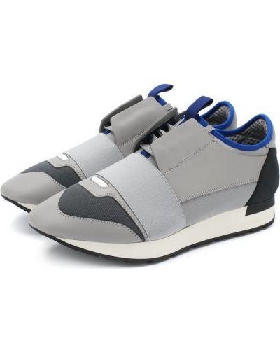 Серые кроссовки Balenciaga