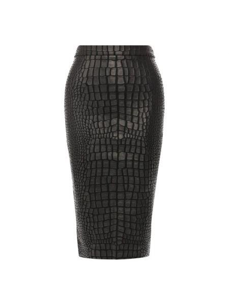 Юбка карандаш кожаная из вискозы Tom Ford