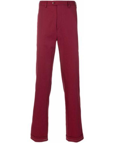 Красные брюки Brioni