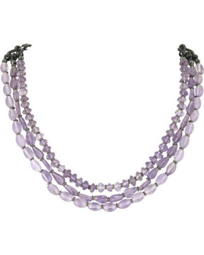 Фиолетовое ожерелье Nature Bijoux