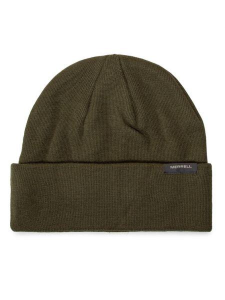 Zielona czapka beanie Merrell