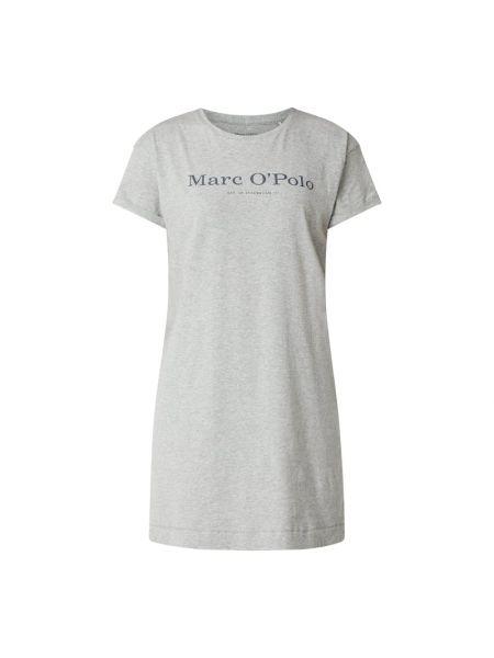 Z rękawami bawełna bawełna koszula nocna z dekoltem Marc O'polo