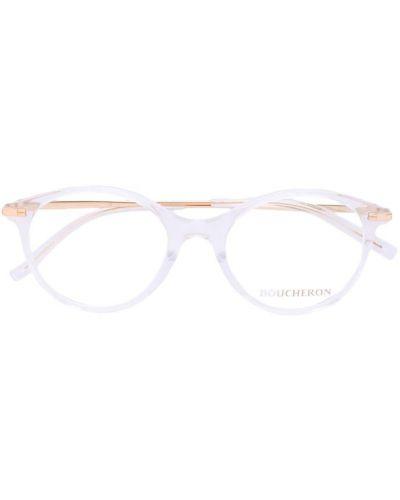 Очки хаки металлические Boucheron Eyewear