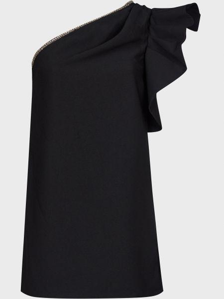 Платье на молнии - черное Self-portrait