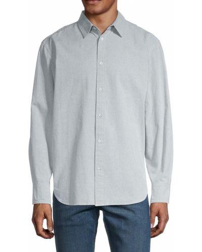 Koszula zapinane na guziki - niebieska Rag & Bone