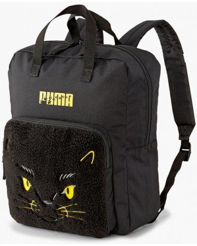 Текстильный черный рюкзак Puma