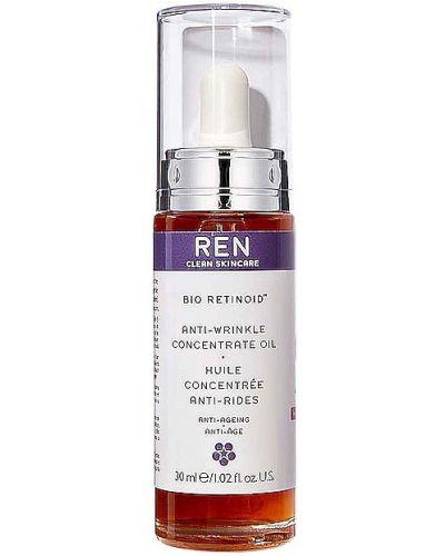 Ciepły skórzany koncentrat do twarzy odmładzający bezpłatne cięcie Ren Clean Skincare
