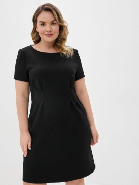 Повседневное платье черное весеннее Incity