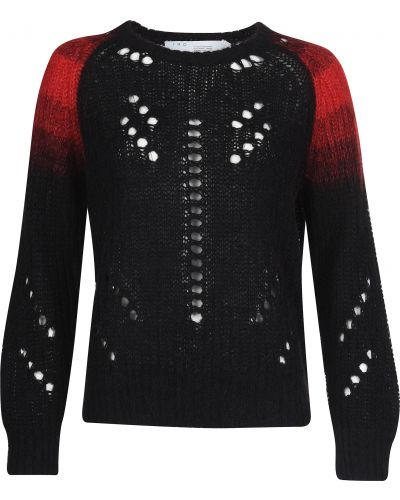 Черный свитер из мохера Iro