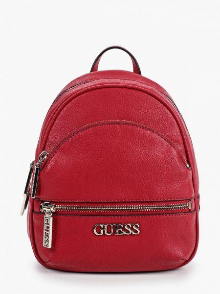 Рюкзак городской красный Guess