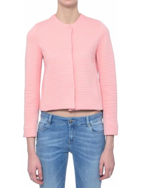 Хлопковый розовый пиджак Iblues