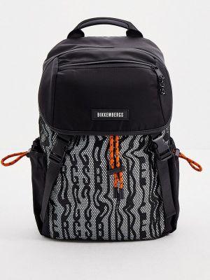Черный зимний рюкзак Bikkembergs