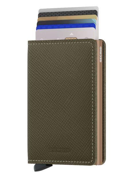 Кожаный кошелек Secrid