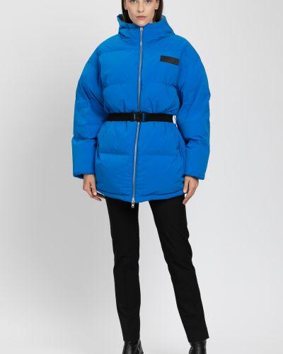 Куртка на молнии - синяя Vassa&co