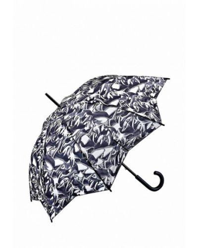 Зонт-трость серый Fulton