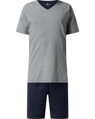 Piżama bawełniana - niebieska Tom Tailor