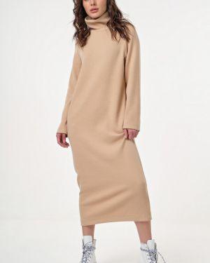 Платье макси в рубчик платье-сарафан Fly