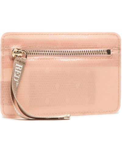 Różowy portfel Red Valentino
