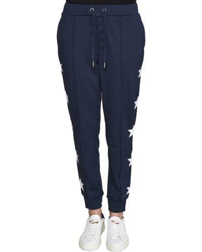 Спортивные брюки из полиэстера - синие Zoe Karssen