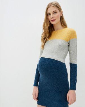 Платье для беременных прямое осеннее Mama.licious