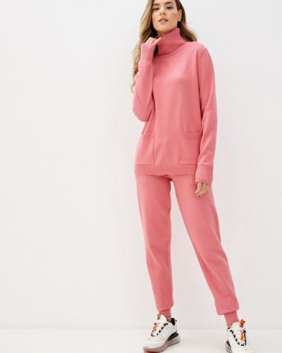 Хлопковый розовый костюмный вязаный костюм Fresh Cotton