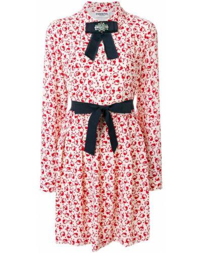 Платье с поясом платье-рубашка с длинными рукавами Essentiel Antwerp