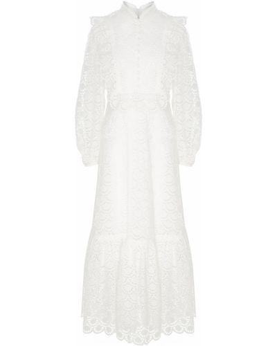 Платье миди макси с воротником Zimmermann