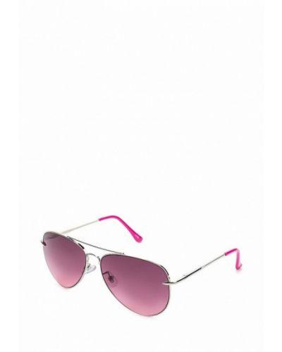 Солнцезащитные очки серебряного цвета Oodji