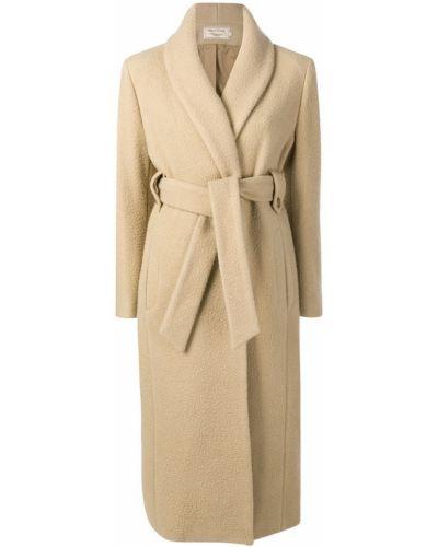 Пальто с капюшоном Maison Kitsuné